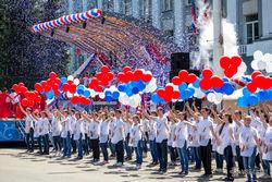 флешмоб день россии